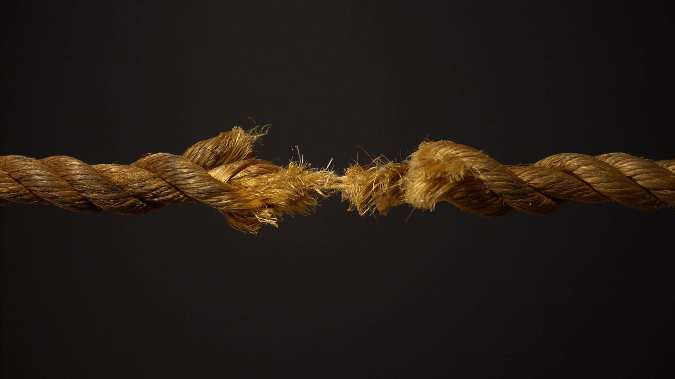 I'm at The End of My Rope! (What do I do?)